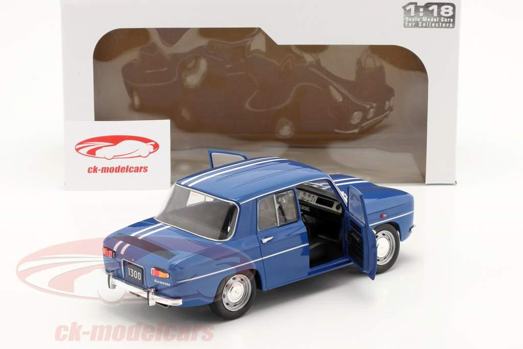 Renault 8 Gordini 1300 Byggeår 1967 blå 1:18 Solido