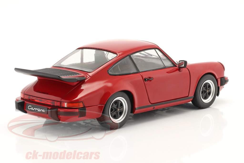 Porsche 911 (930) Carrera 3.2 Año de construcción 1984 rojo 1:18 Solido