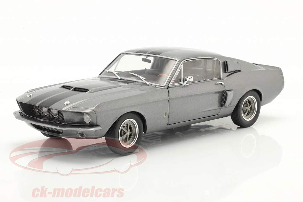 Ford Shelby Mustang GT500 Année de construction 1969 gris 1:18 Solido
