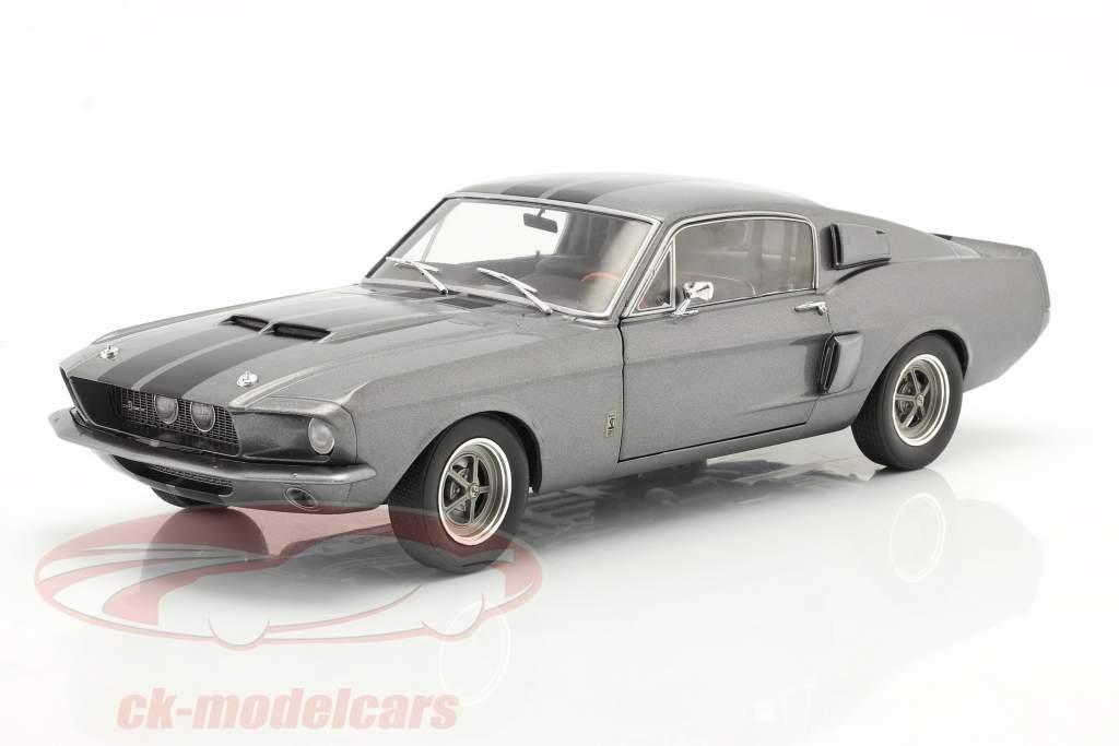 Ford Shelby Mustang GT500 Anno di costruzione 1969 Grigio 1:18 Solido