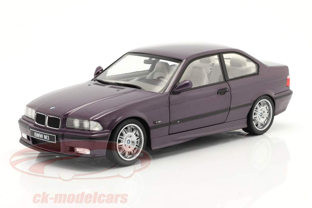BMW M3 (E36) Coupe year 1994 Daytona purple 1:18 Solido