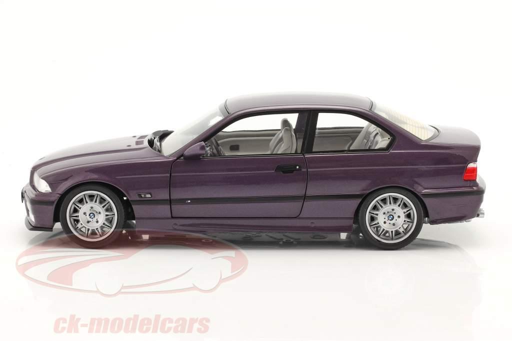BMW M3 (E36) Coupe 建设年份 1994 Daytona 紫色 1:18 Solido
