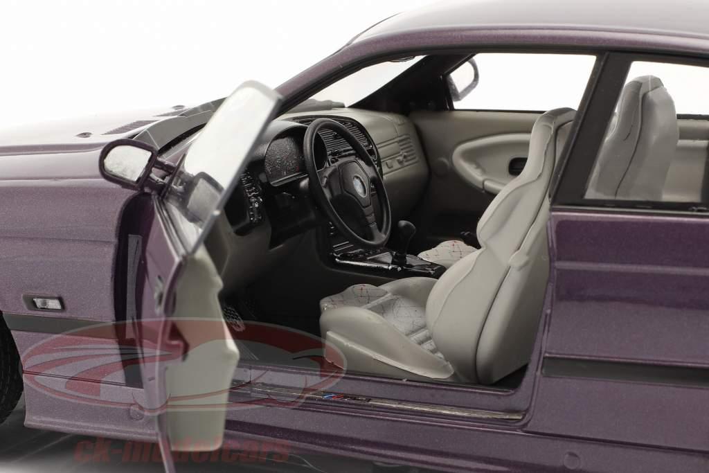 BMW M3 (E36) Coupe Byggeår 1994 Daytona violet 1:18 Solido