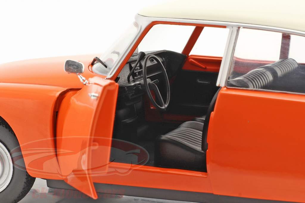 Citroen D Special Année de construction 1972 Orange 1:18 Solido