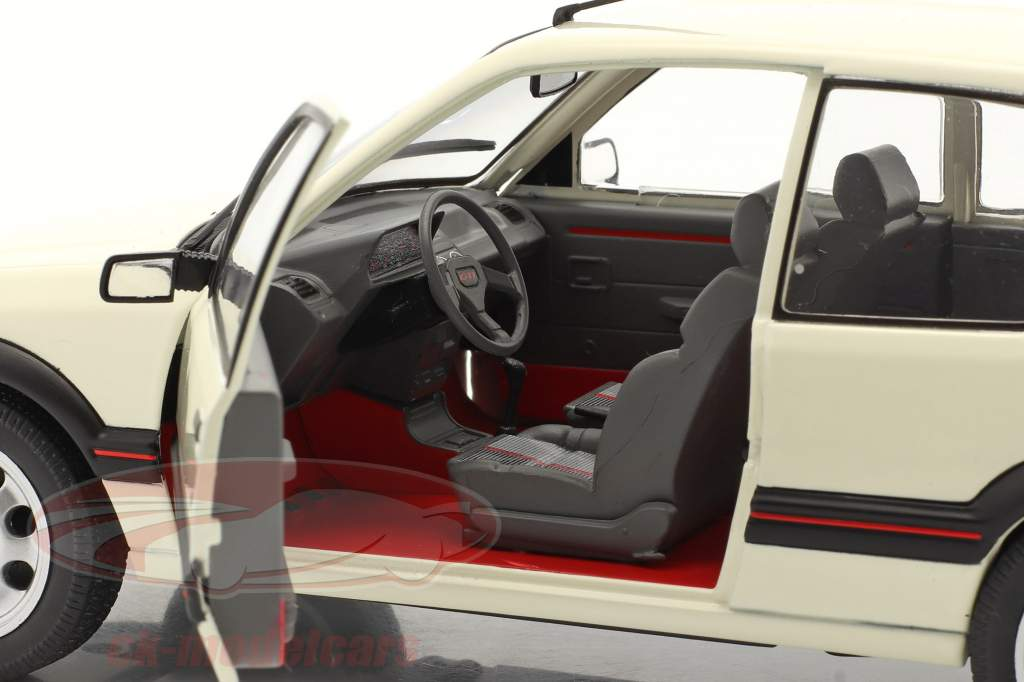 Peugeot 205 GTI 1.9L MK1 Année de construction 1988 blanche 1:18 Solido