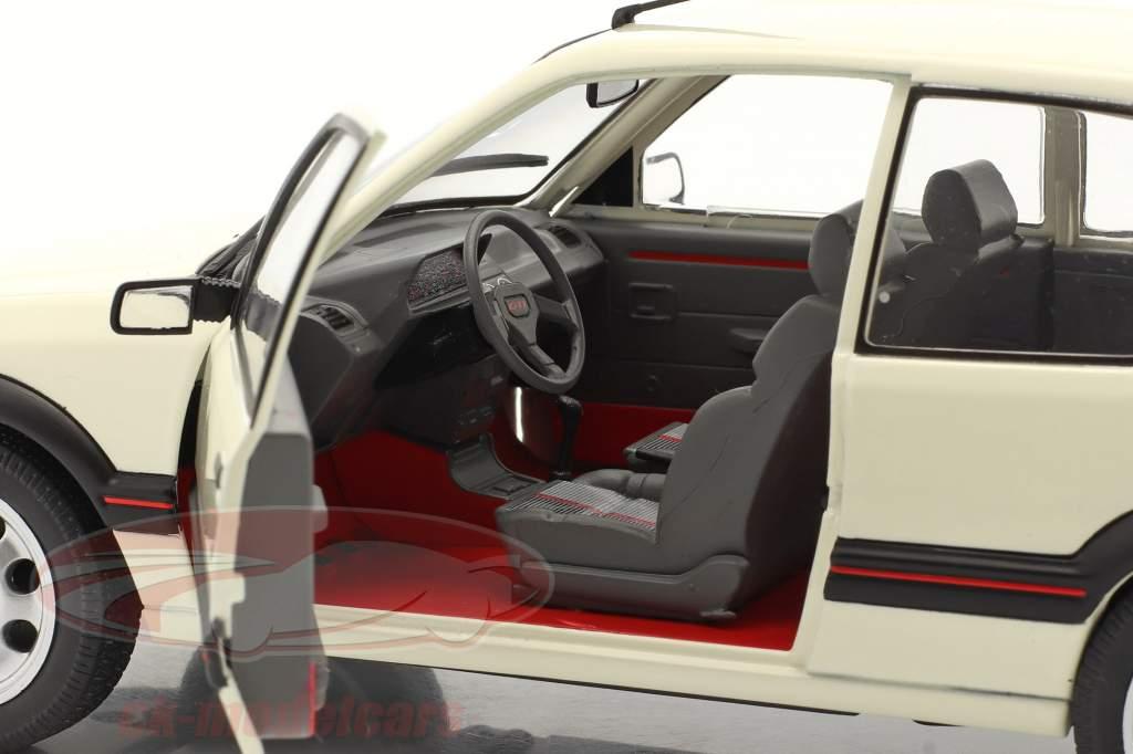 Peugeot 205 GTI 1.9L MK1 Byggeår 1988 hvid 1:18 Solido