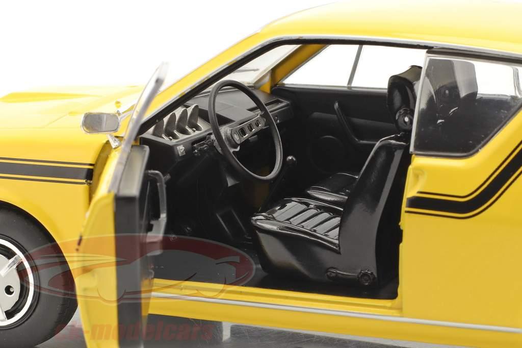 Renault 17 (R17) MK1 Byggeår 1976 gul 1:18 Solido