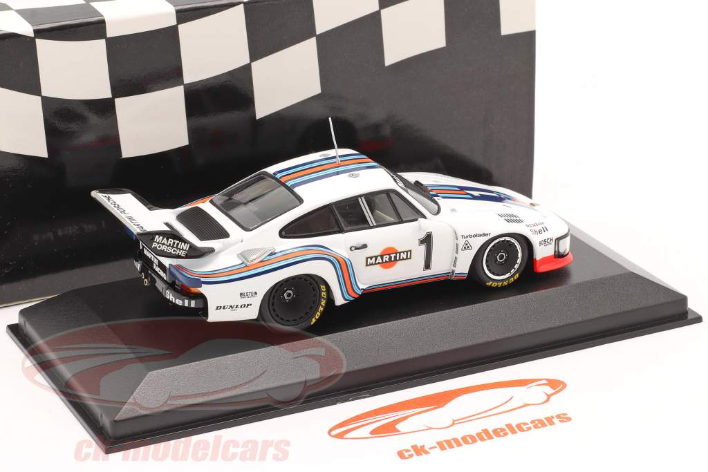 Porsche 935 #1 vincitore 6h Dijon 1976 Ickx / Mass 1:43 Minichamps