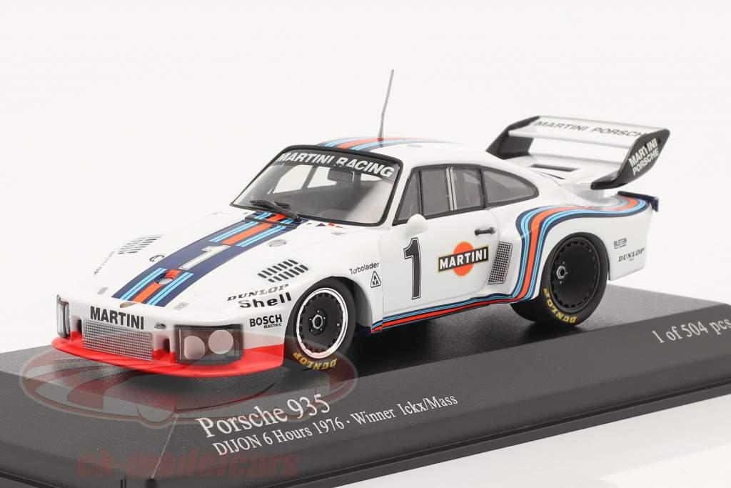 Porsche 935 #1 Winner 6h Dijon 1976 Ickx / Mass 1:43 Minichamps