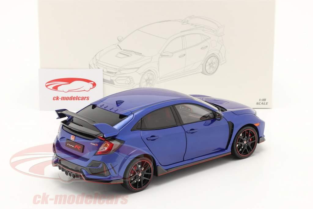 Honda Civic Type-R Baujahr 2020 blau 1:18 LCD Models
