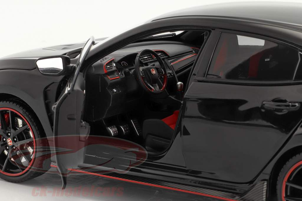 Honda Civic Type-R Byggeår 2020 sort 1:18 LCD Models