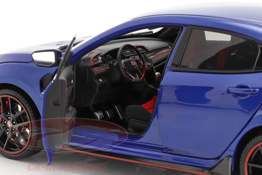 Honda Civic Type-R Año de construcción 2020 azul 1:18 LCD Models