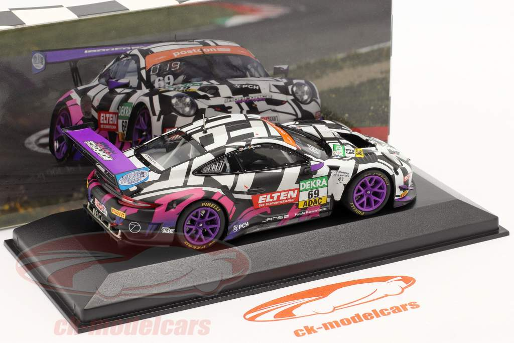 Porsche 911 GT3 R #69 ADAC GT Masters 2019 Iron Force 1:43 Minichamps