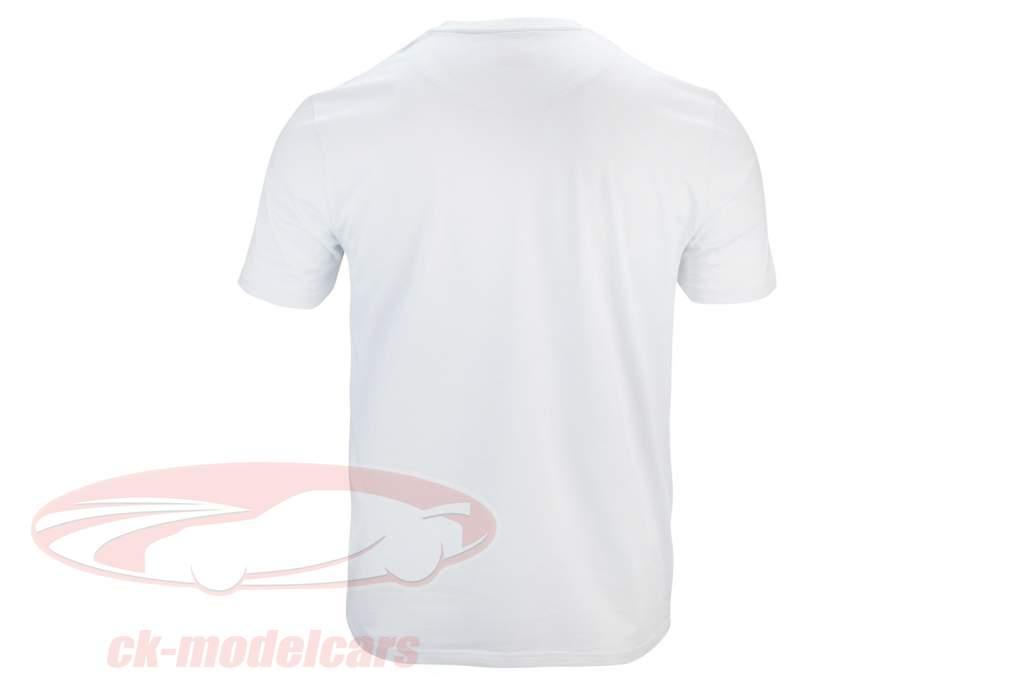 Mick Schumacher camisa Speed Logo Branco