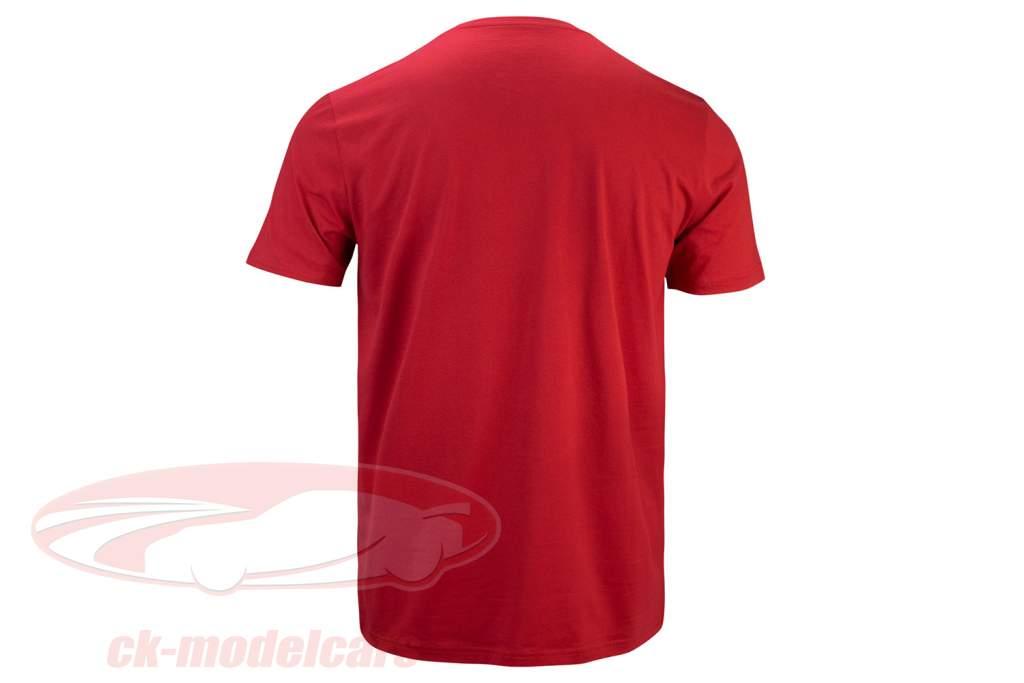 Mick Schumacher camisa Speed Logo vermelho