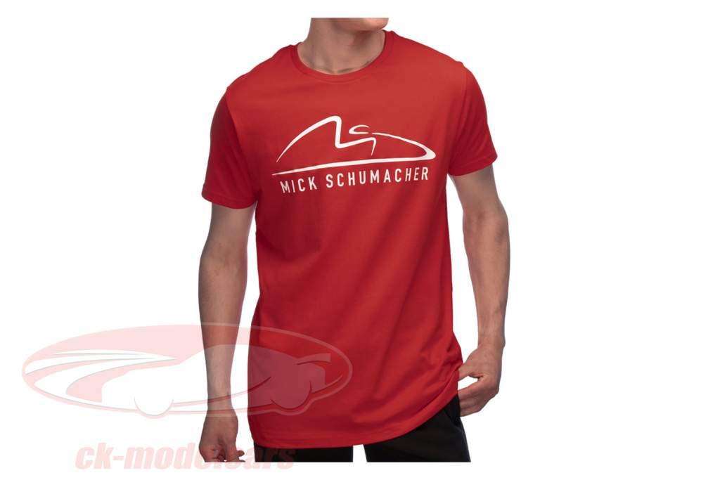 Mick Schumacher T-shirt Speed Logo Rød