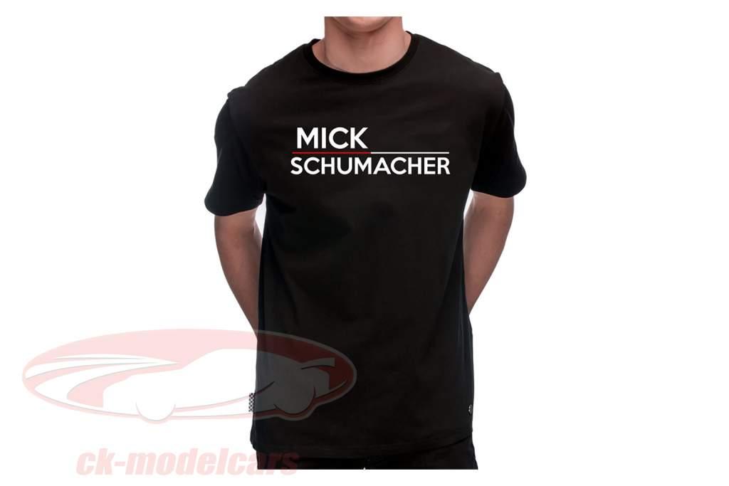 Mick Schumacher Maglietta 47 Nero