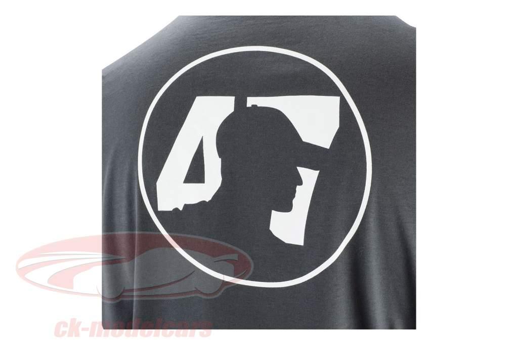 Mick Schumacher T-shirt Series 2 antracit