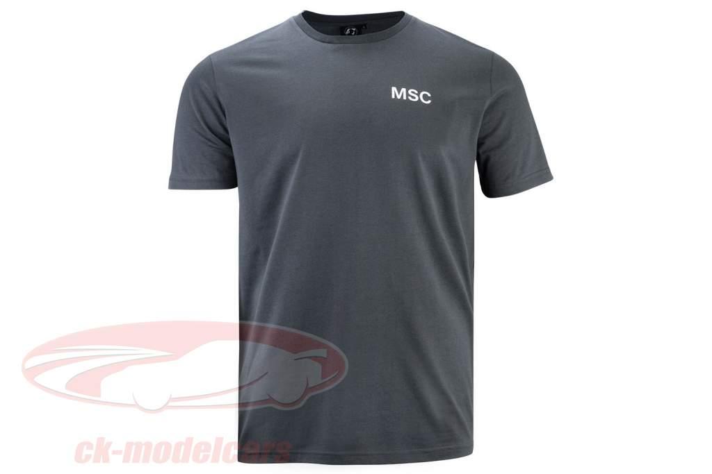 Mick Schumacher T-Shirt Series 2 anthrazit