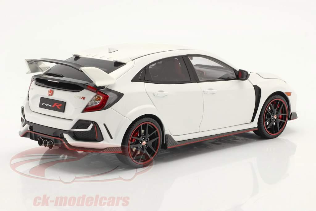 Honda Civic Type-R Année de construction 2020 blanche 1:18 LCD Models
