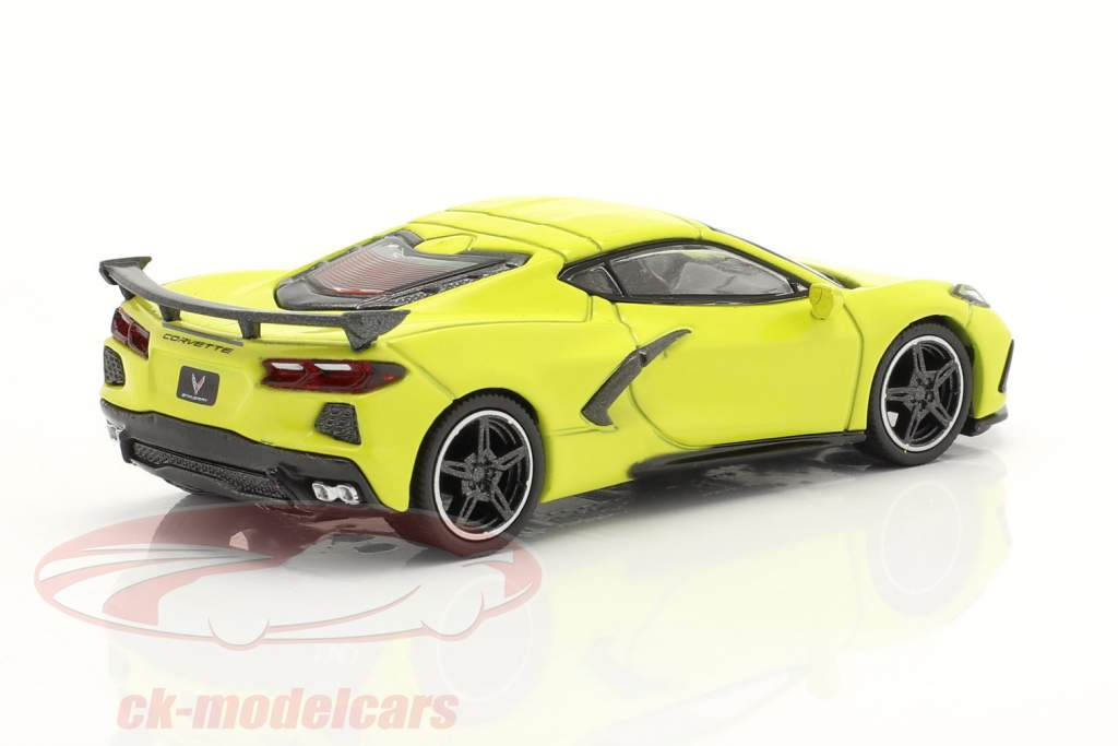 Chevrolet Corvette Stingray LHD Baujahr 2020 accelerate gelb 1:64 TrueScale