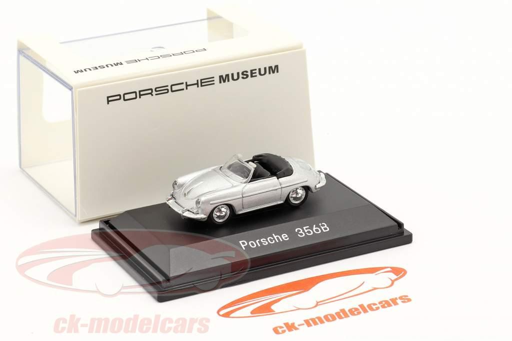 Porsche 356B Convertible argent 1:87 Welly