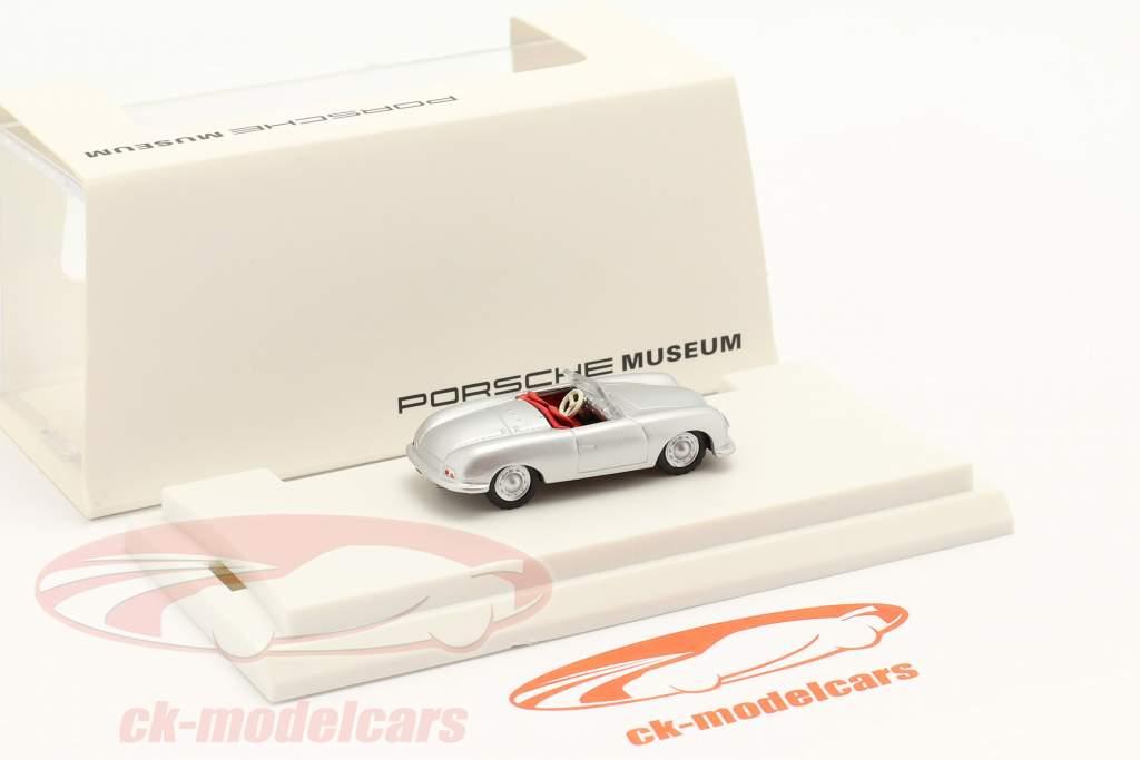 Porsche 356 Nr.1 Coche de turismo Año de construcción 1948 plata 1:87 Autocraft