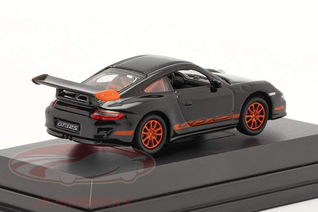 Porsche 911 (997) GT3 RS sort 1:87 Welly