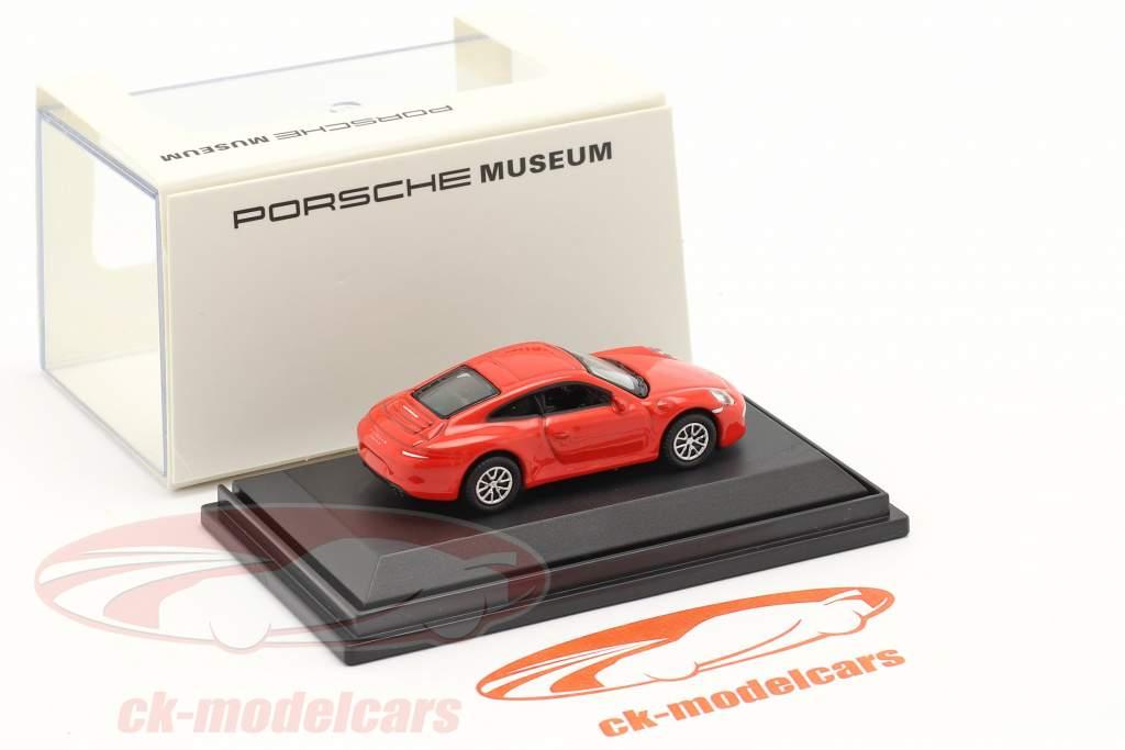 Porsche 911 (991) Carrera S rot 1:87 Welly