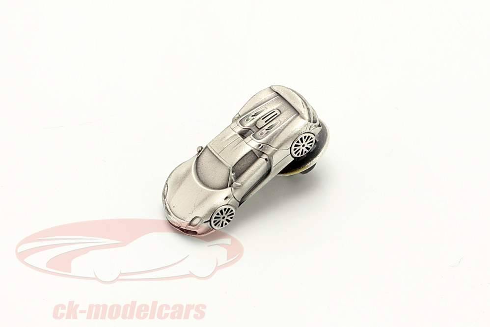 Pin Porsche 918 Spyder prata