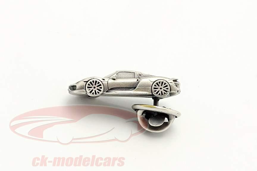 Pin Porsche 918 Spyder zilver