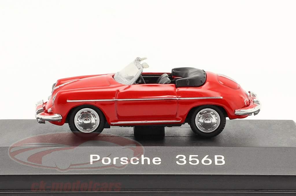 Porsche 356B Convertibile rosso 1:87 Welly