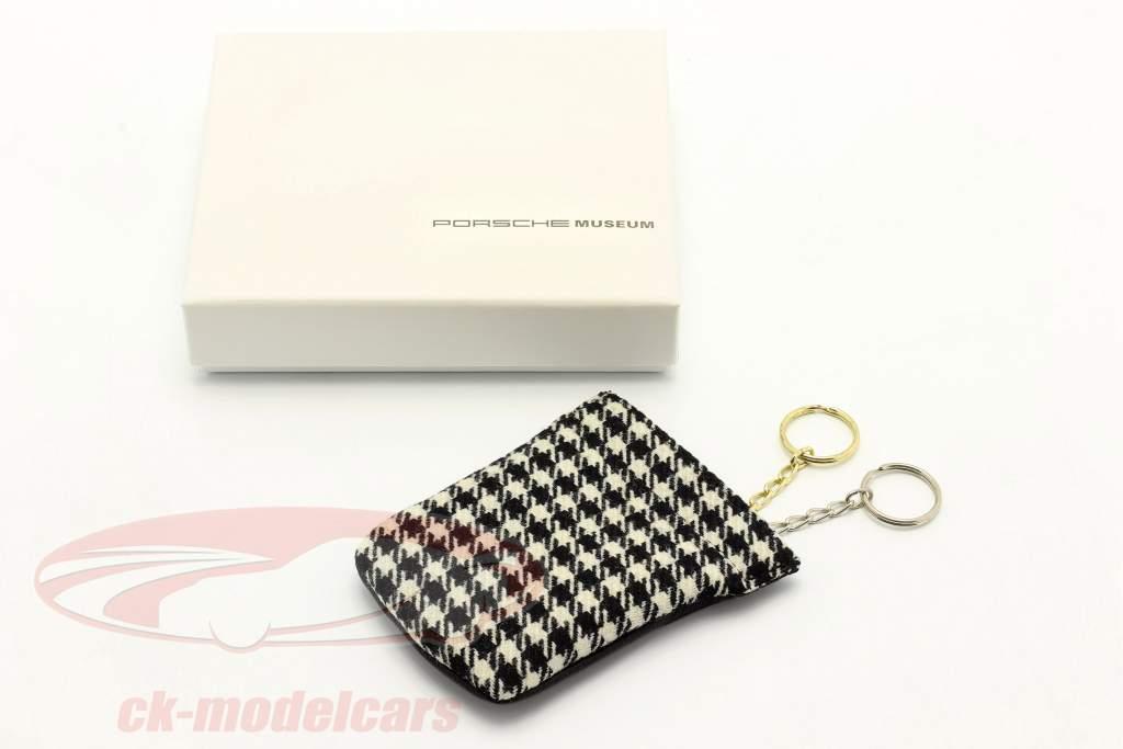 Porsche Schlüsselanhänger / Schlüsselglocke 1MIO911 schwarz / weiß