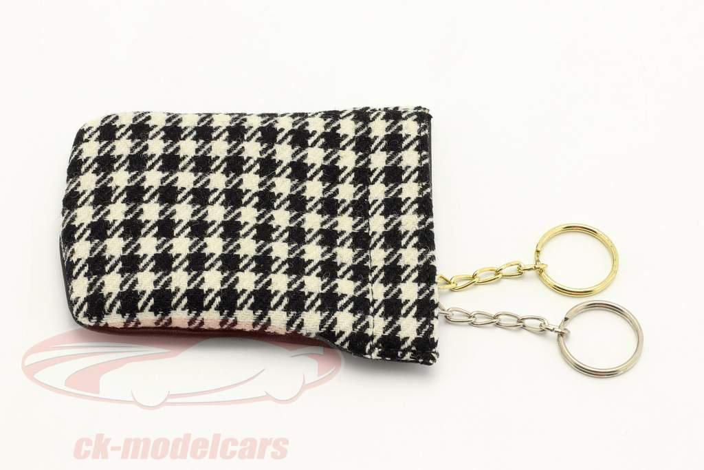 Porsche Porte-clés / Clochette 1MIO911 le noir / blanche