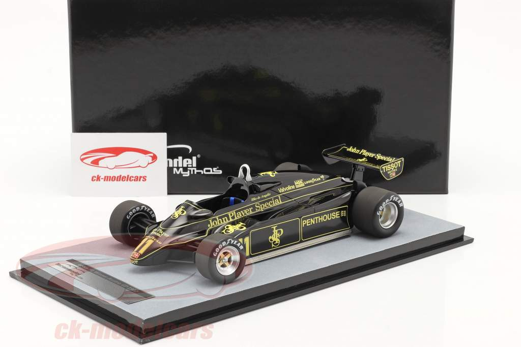Elio de Angelis Lotus 91 #11 Sieger Österreich GP Formel 1 1982 1:18 Tecnomodel