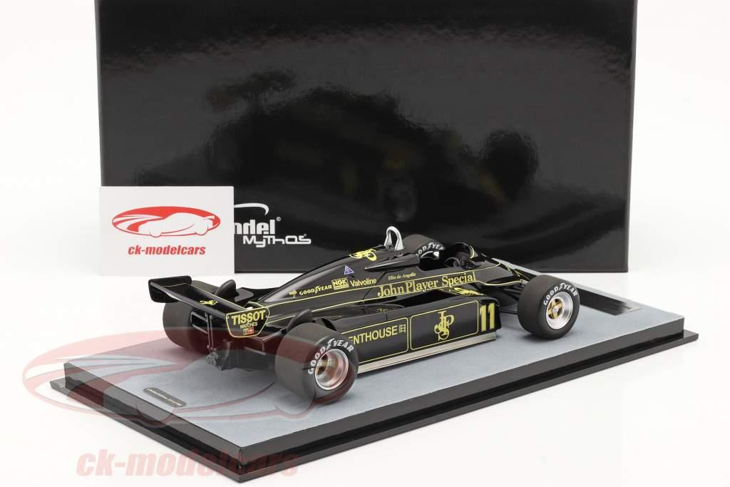 Elio de Angelis Lotus 91 #11 Vencedora austríaco GP Fórmula 1 1982 1:18 Tecnomodel