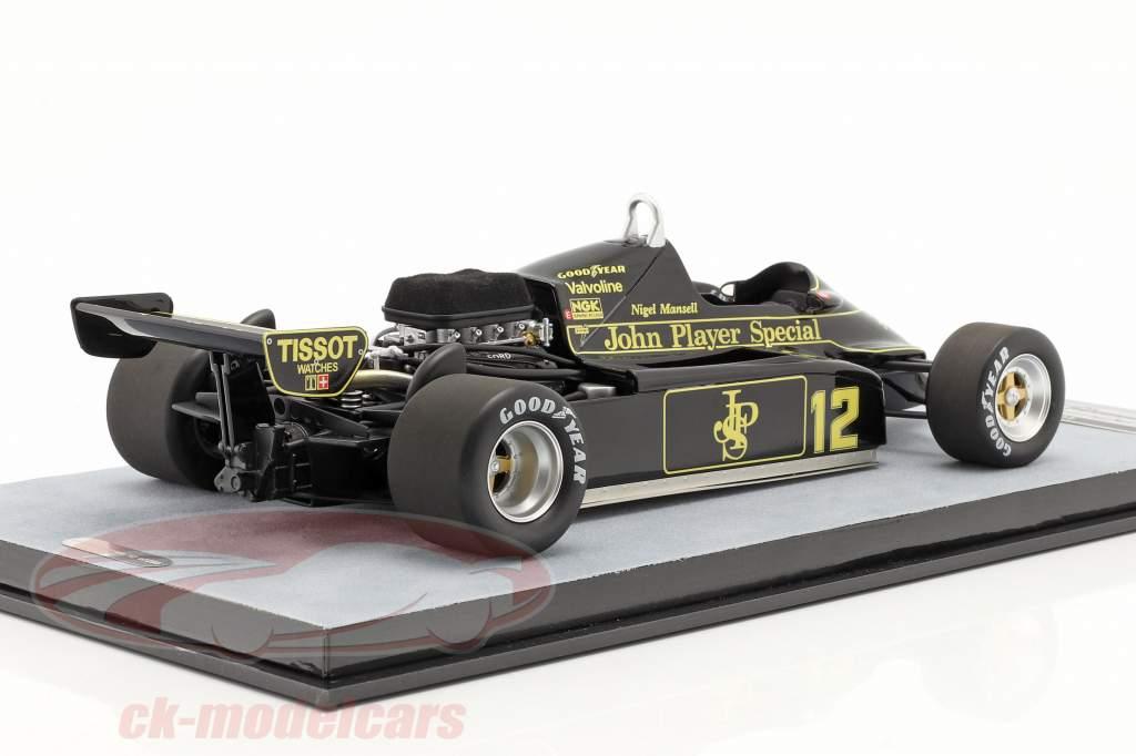 Nigel Mansell Lotus 91 #12 4e Monaco GP formule 1 1982 1:18 Tecnomodel