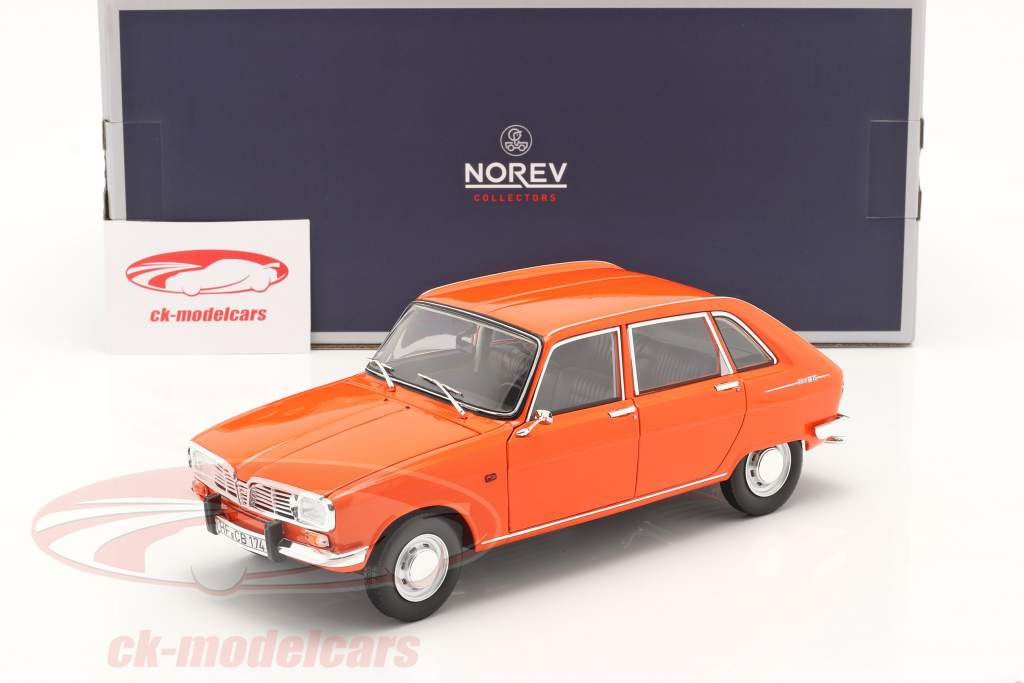 Renault 16 TS Anno di costruzione 1971 arancia 1:18 Norev