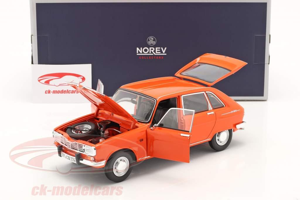 Renault 16 TS Byggeår 1971 orange 1:18 Norev