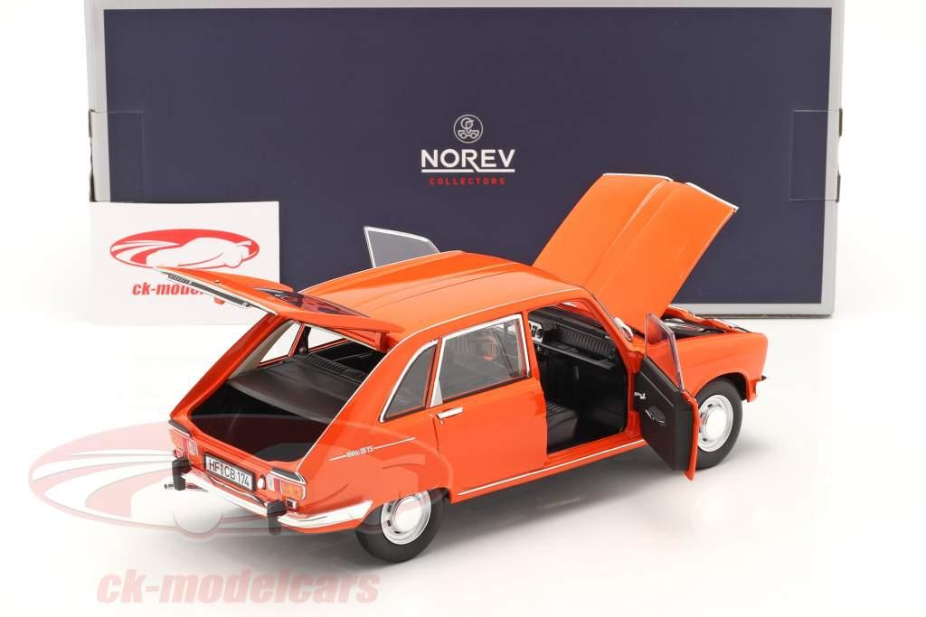 Renault 16 TS Ano de construção 1971 laranja 1:18 Norev