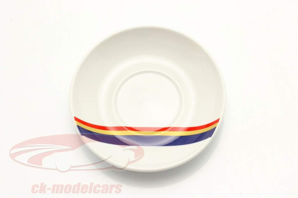 Espresso kopjes (set of 2) Porsche Racing blauw / rood / goud