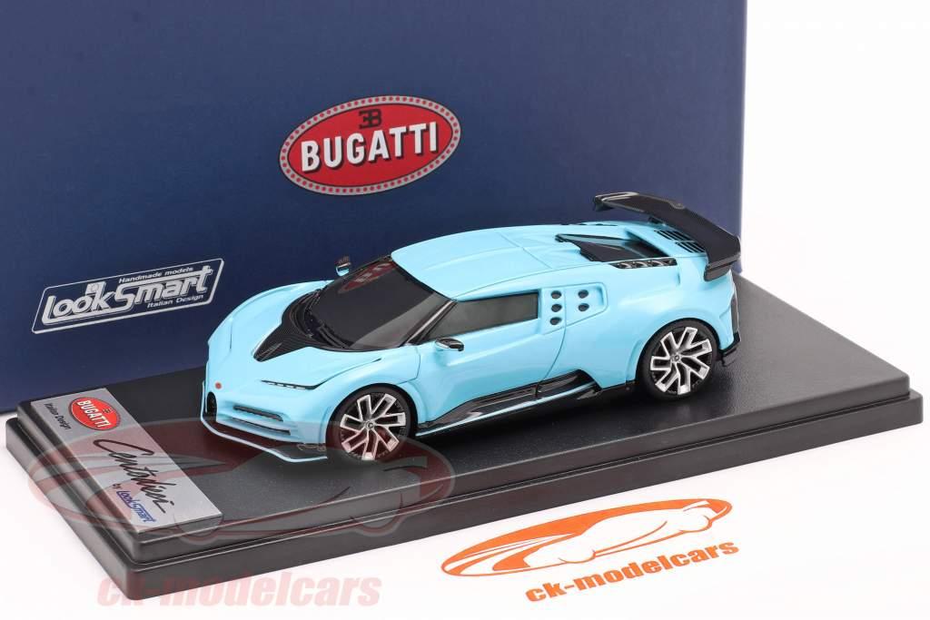 Bugatti Centodieci 2019 Historic Bugatti hellblau 1:43 LookSmart