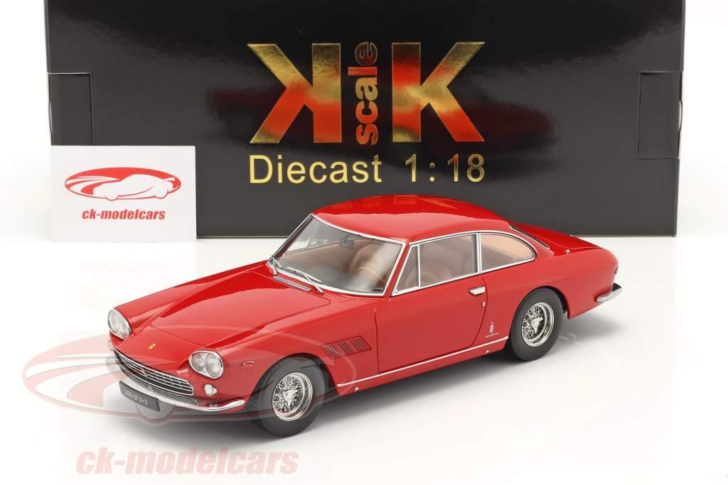 Ferrari 330 GT 2+2 Baujahr 1964 rot 1:18 KK skala