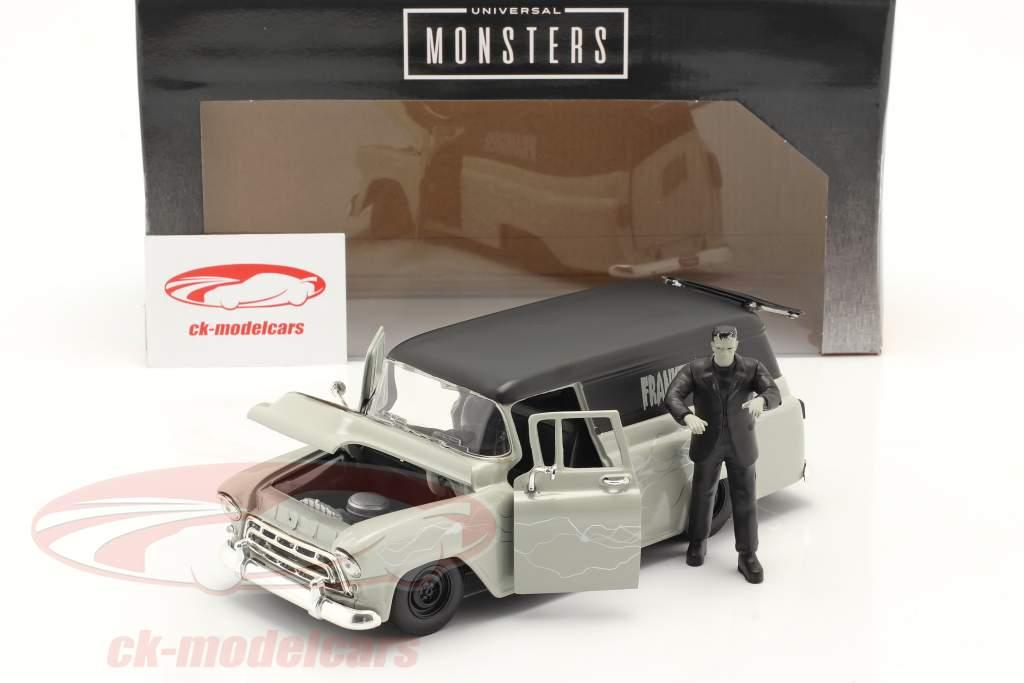 Chevy Suburban 1957 med figur Frankenstein 1:24 Jada Toys