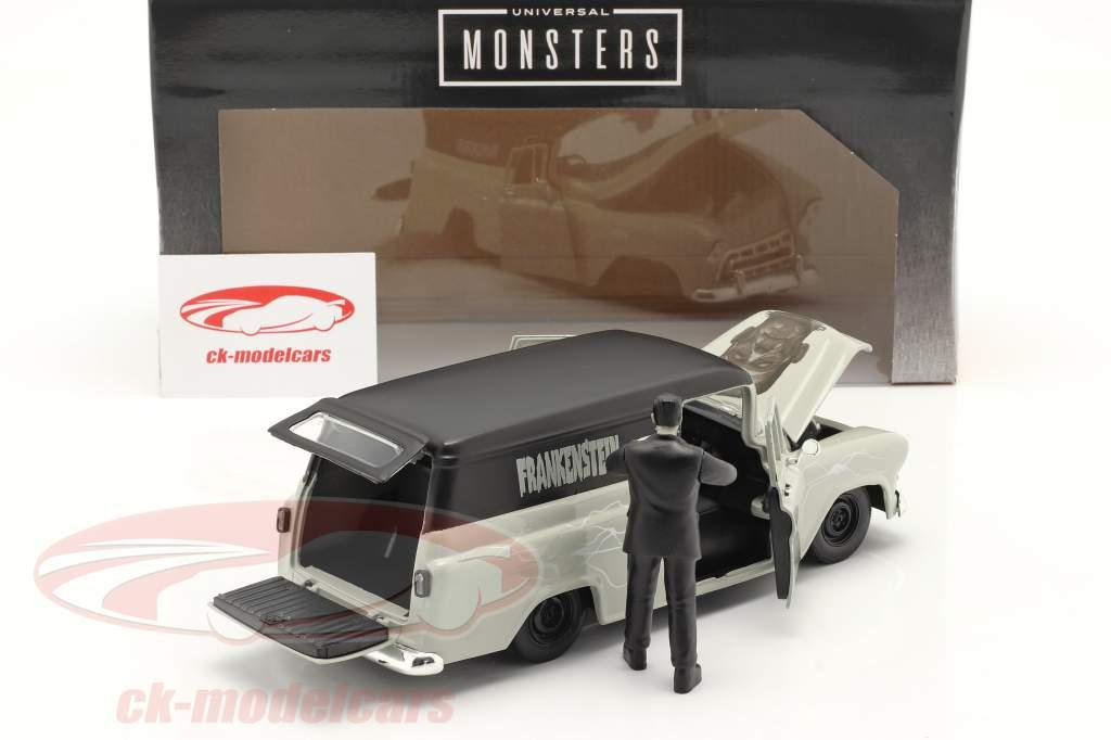 Chevy Suburban 1957 met figuur Frankenstein 1:24 Jada Toys