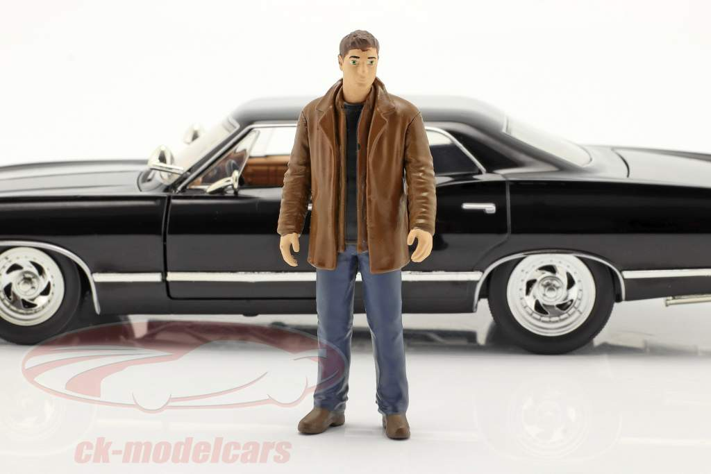 Chevy Impala SS Sport Sedan 1967 Series de TV Supernatural con figura 1:24 Jada Toys