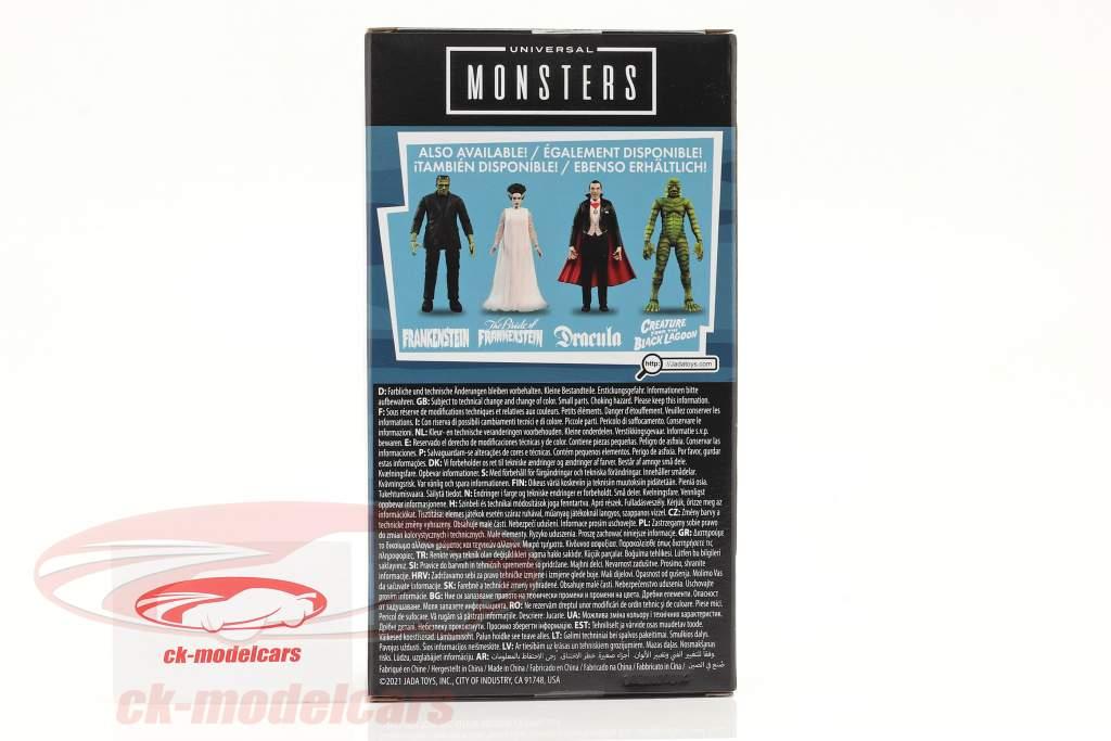 Universal Monsters 6 inch figuur Schepsel van de zwart Lagune Jada Toys