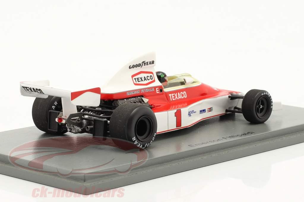 Emerson Fittipaldi McLaren M23 #1 Sieger British GP Formel 1 1975 1:43 Spark