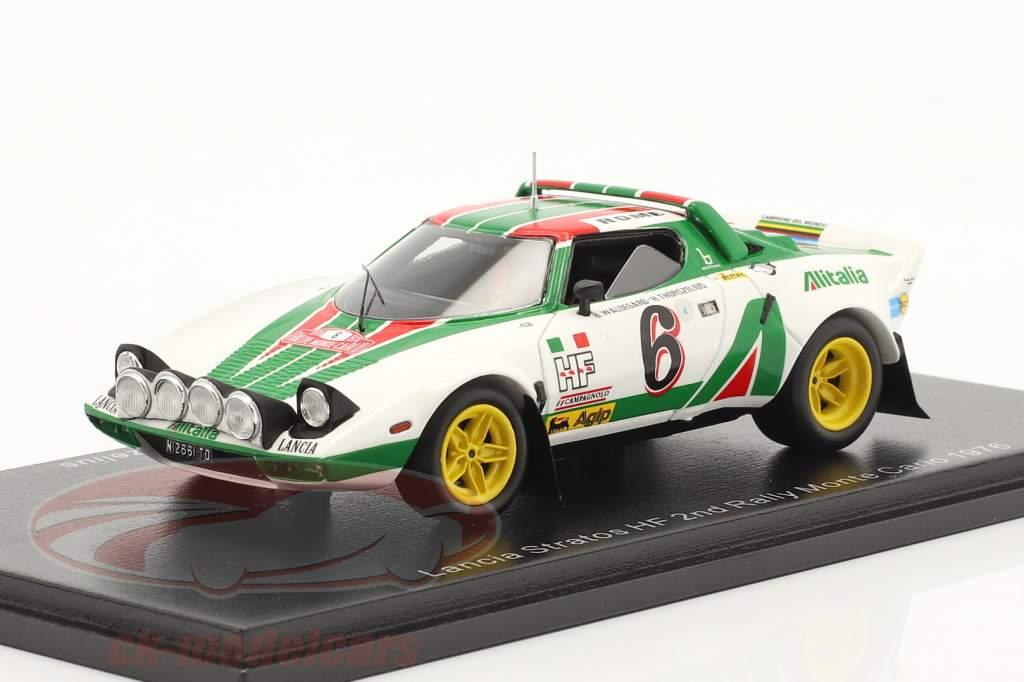 Lancia Stratos HF #6 2do Rallye Monte Carlo 1976 Waldegard, Thorszelius 1:43 Spark