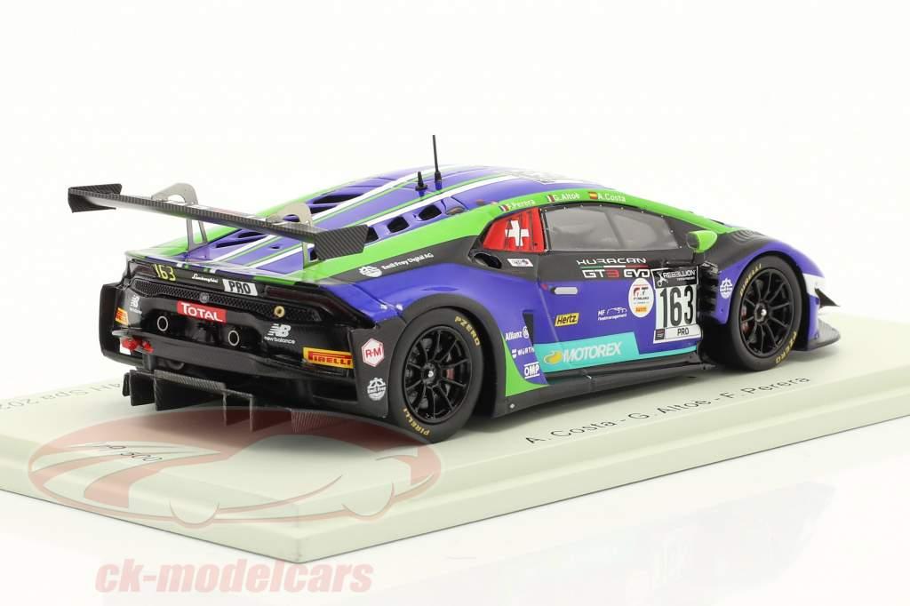 Lamborghini Huracan GT3 Evo #163 24h Spa 2020 Emil Frey Racing 1:43 Spark